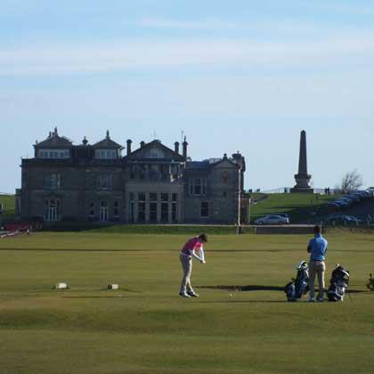 Golf in St. Andrews