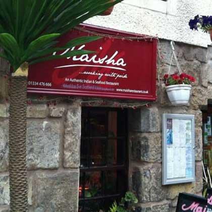 Restaurants in St. Andrews